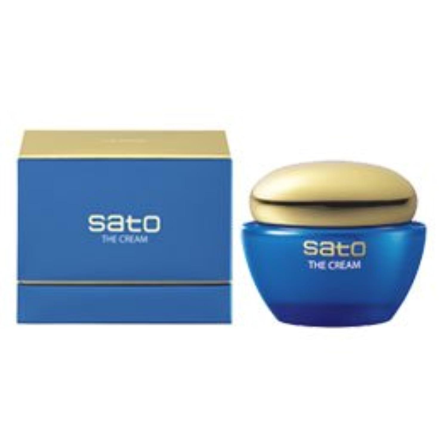 ここに機械的に深遠佐藤製薬 SATO【サトウ製薬】ザ?クリーム50g<保湿クリーム> 8000 P12