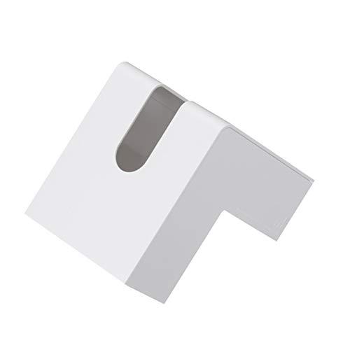 +d フォリオ ティッシュケース ホワイト D-660-WH