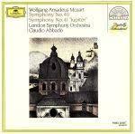 "Symphonies No.40 & No.41""Jupiter"" / London Symphony Orchestra / Abbado"