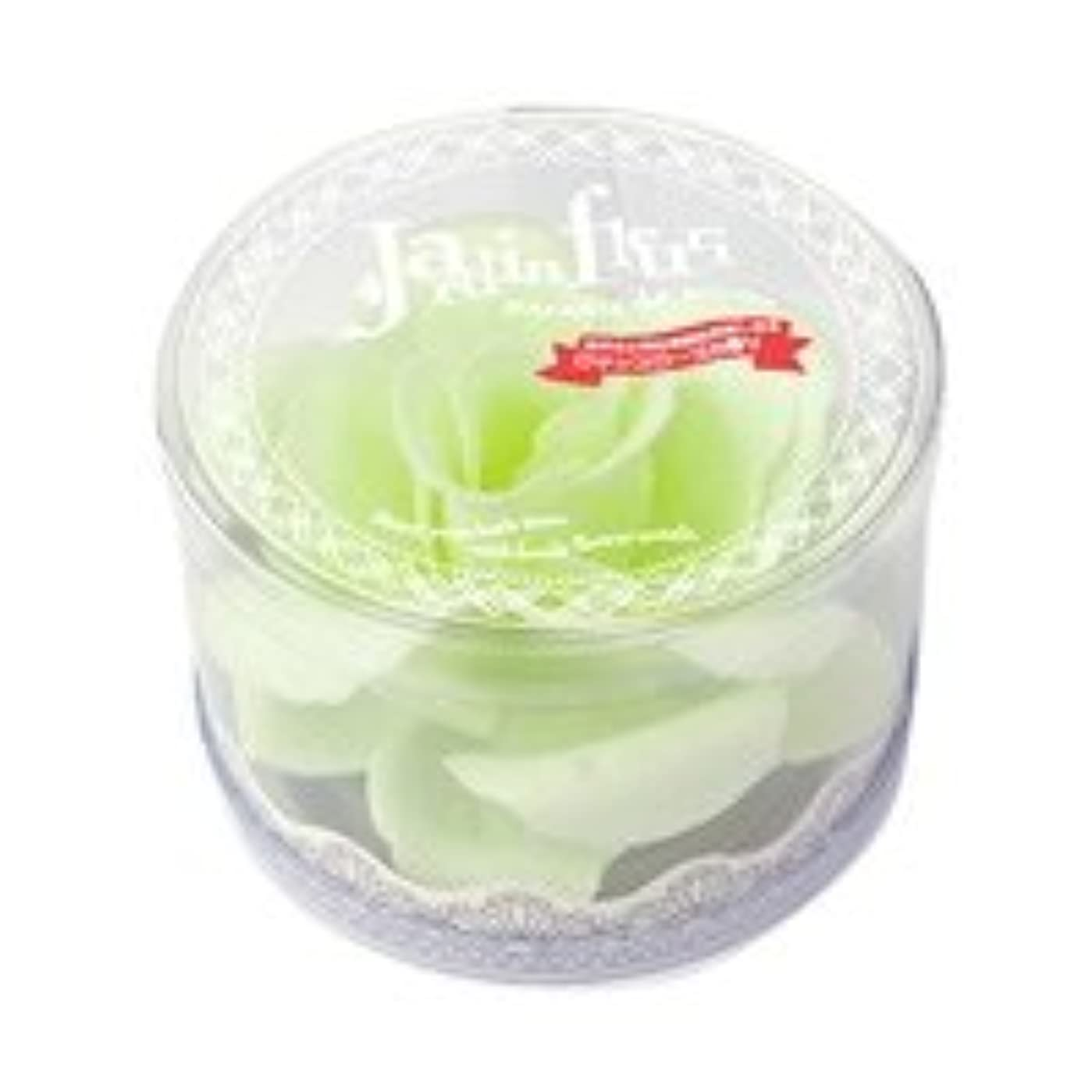 ジョイント征服者長老ジャンダンフルリ バスペタル ボックス「ペール グリーン」6個セット ロマンスローズの香り