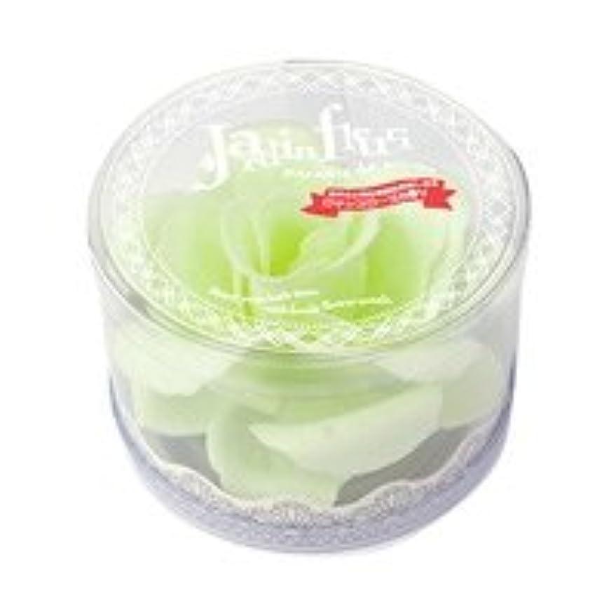 藤色蒸留囲まれたジャンダンフルリ バスペタル ボックス「ペール グリーン」6個セット ロマンスローズの香り