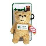 Ted Talking Backpack Clip Plush Teddy Bear テッド テディベア 6インチ おしゃべり ぬいぐるみ バッグ チャーム クリップ 「クリーントーキング版(通常版)」 米国正規公式ライセンス品 並行輸入品