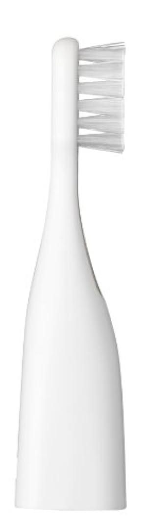 トレイル機会学習パナソニック ポケットドルツキッズEW-DS32用替えブラシ 2本入 白 EW0959-W