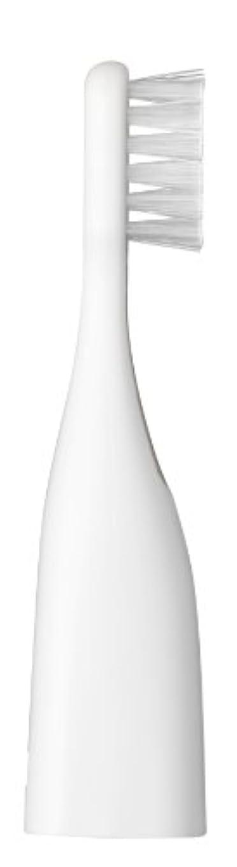 建物ブラウズ盲目パナソニック ポケットドルツキッズEW-DS32用替えブラシ 2本入 白 EW0959-W