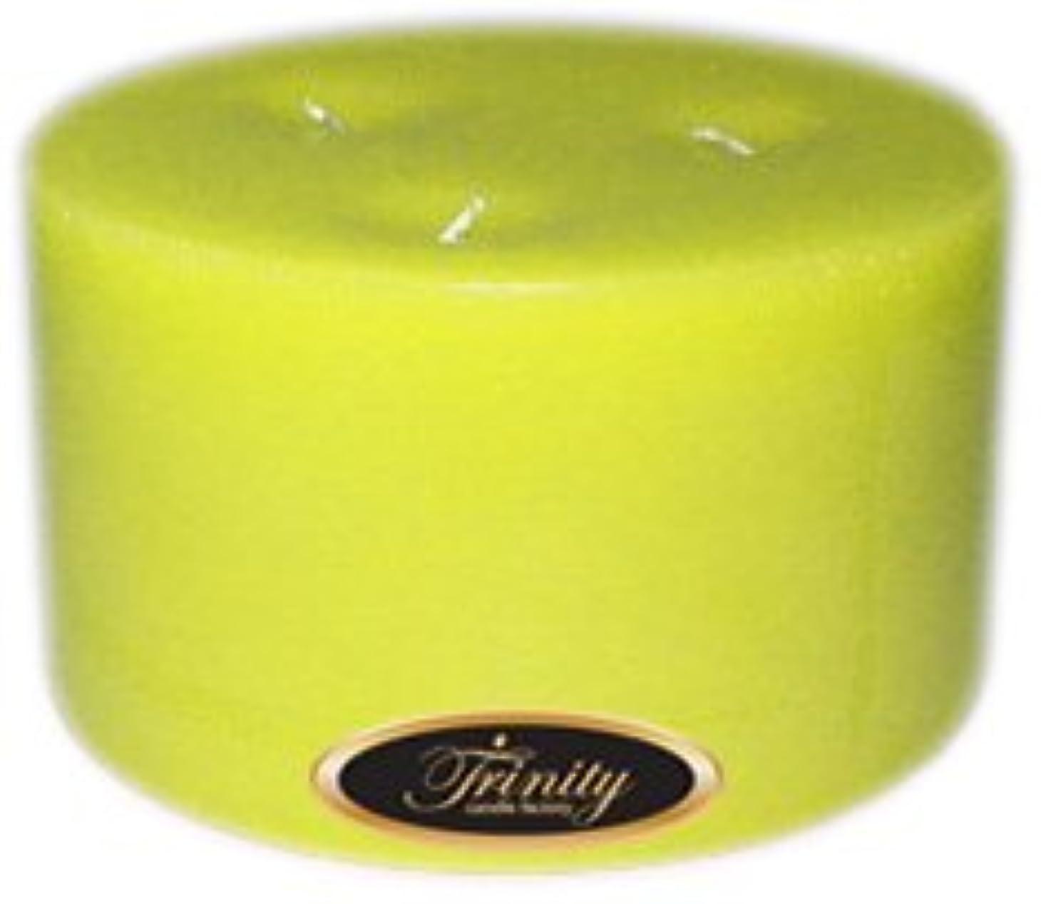 Trinity Candle工場 – レモングラス – Pillar Candle – 6 x 3
