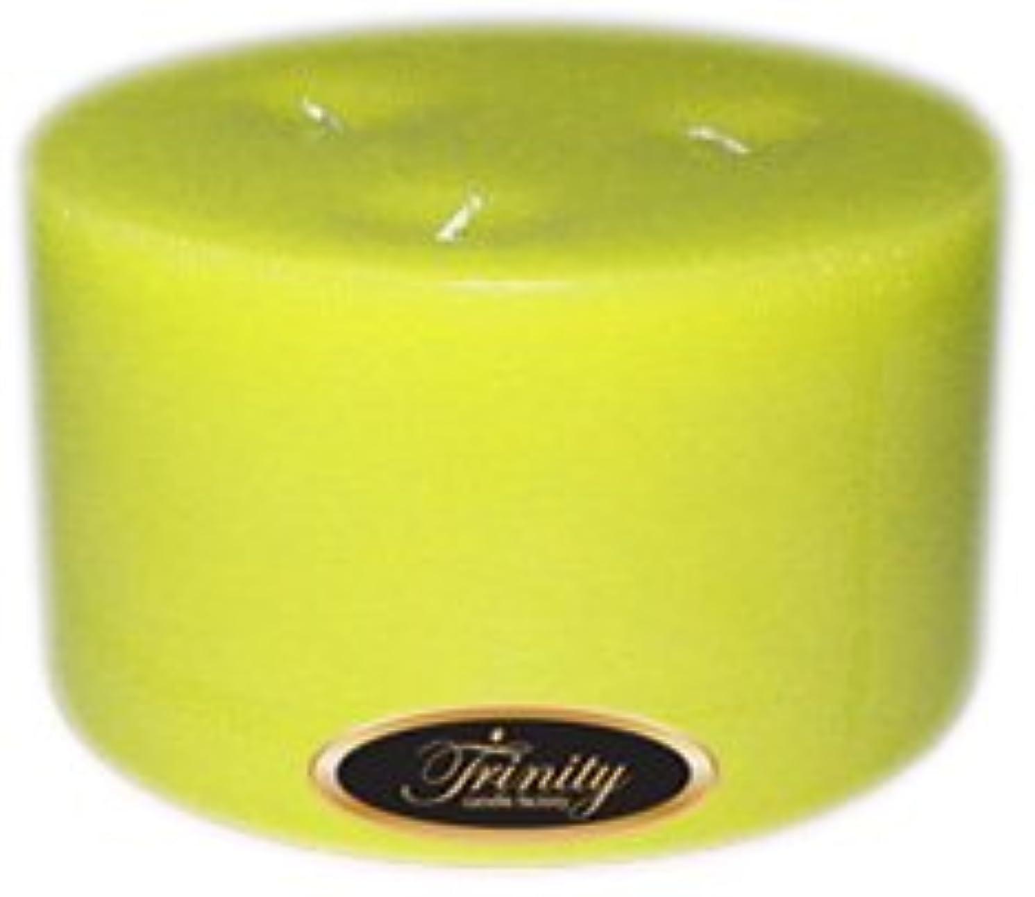 歩道いつもカメTrinity Candle工場 – レモングラス – Pillar Candle – 6 x 3