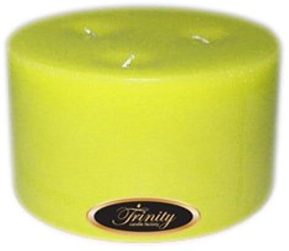 スクランブルふけるまばたきTrinity Candle工場 – レモングラス – Pillar Candle – 6 x 3