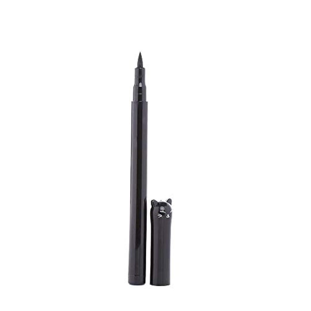 コーチ設置緊張Semperole - 1PC NEWビューティーキャットスタイルブラック長持ち防水リキッドアイライナーアイライナーペン鉛筆メイクアップ化粧品ツール