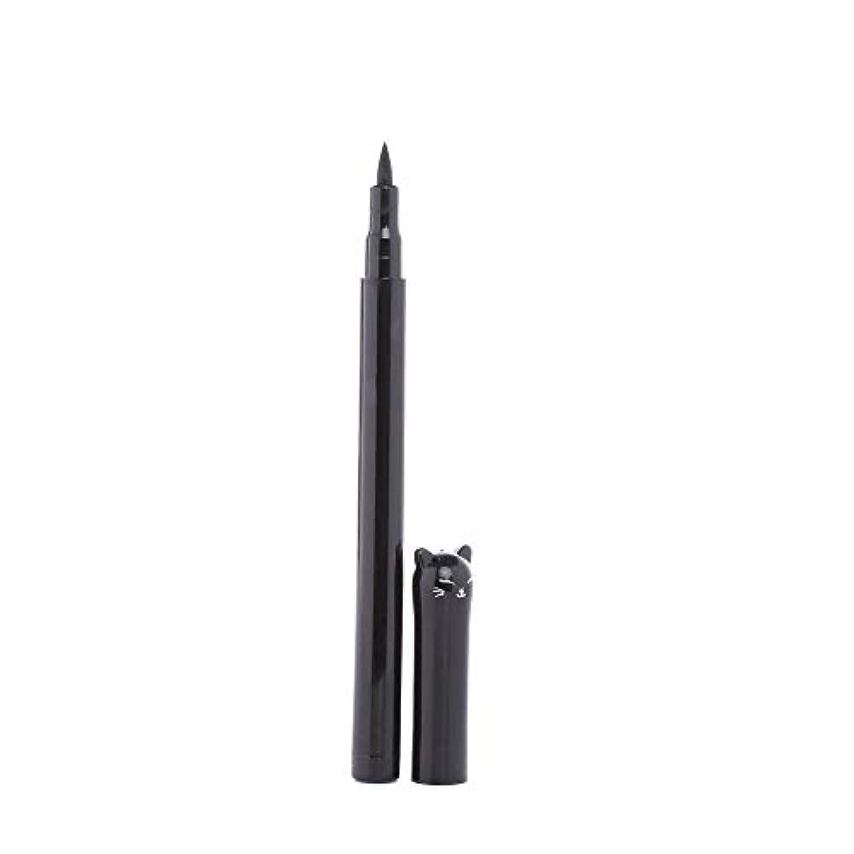 充実教育学会話型Semperole - 1PC NEWビューティーキャットスタイルブラック長持ち防水リキッドアイライナーアイライナーペン鉛筆メイクアップ化粧品ツール