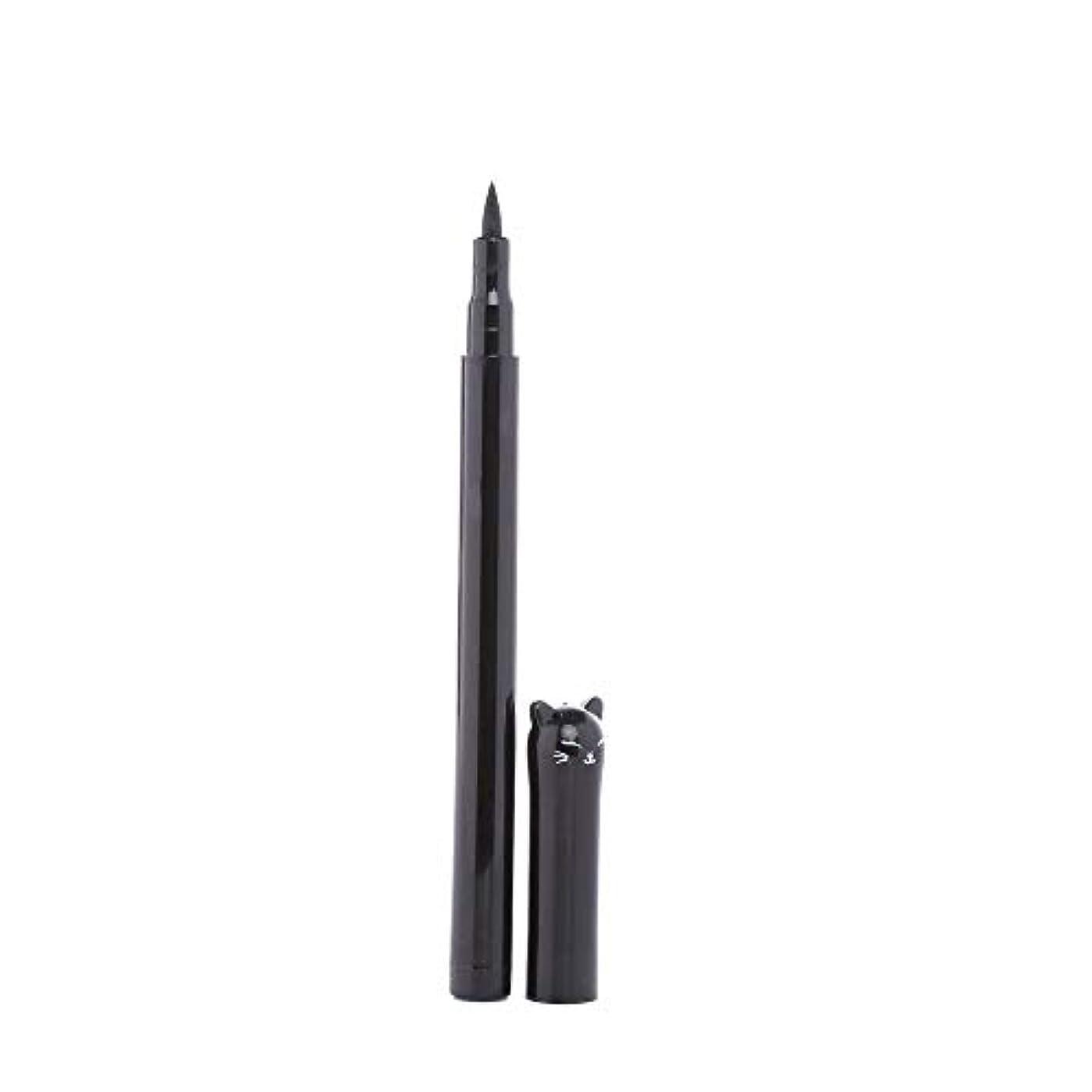 化石リル失望Semperole - 1PC NEWビューティーキャットスタイルブラック長持ち防水リキッドアイライナーアイライナーペン鉛筆メイクアップ化粧品ツール