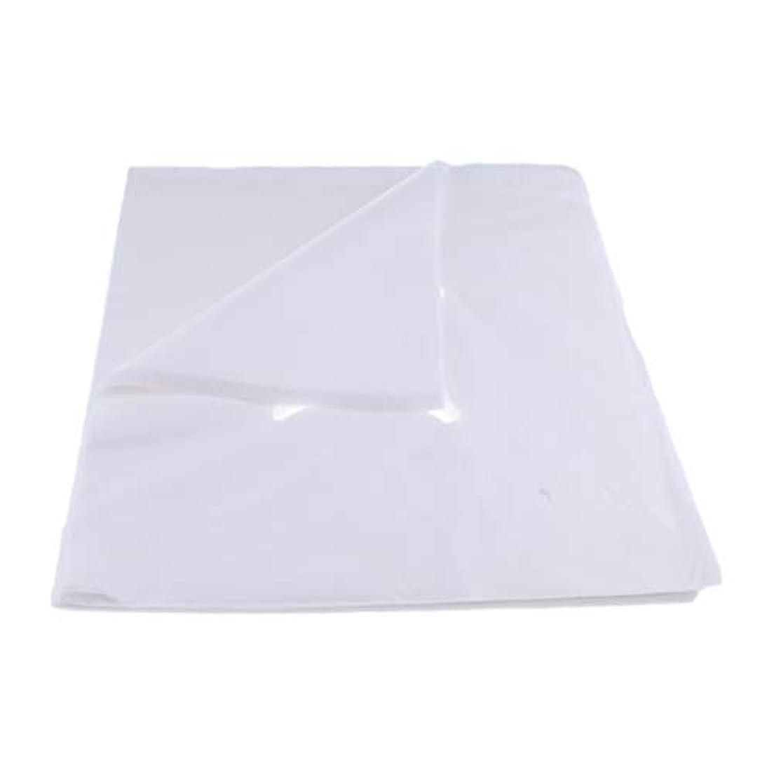 サスティーン太陽潜む200ピース不織布使い捨てマッサージベッドフェイスクレードルクッションシートカバー - L