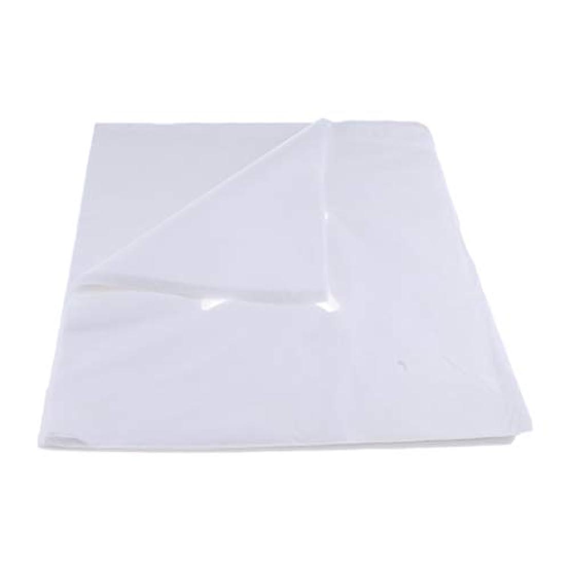 枯渇敬な拒絶する200ピース不織布使い捨てマッサージベッドフェイスクレードルクッションシートカバー - L
