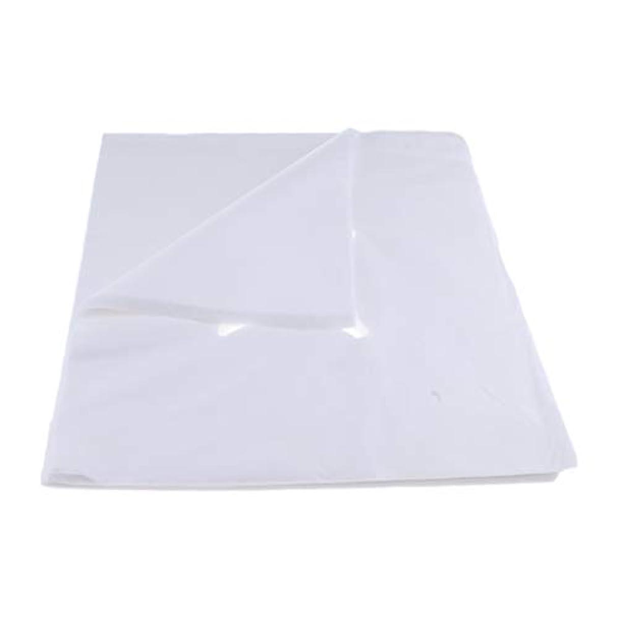 誘惑する休眠虚偽200ピース不織布使い捨てマッサージベッドフェイスクレードルクッションシートカバー - L