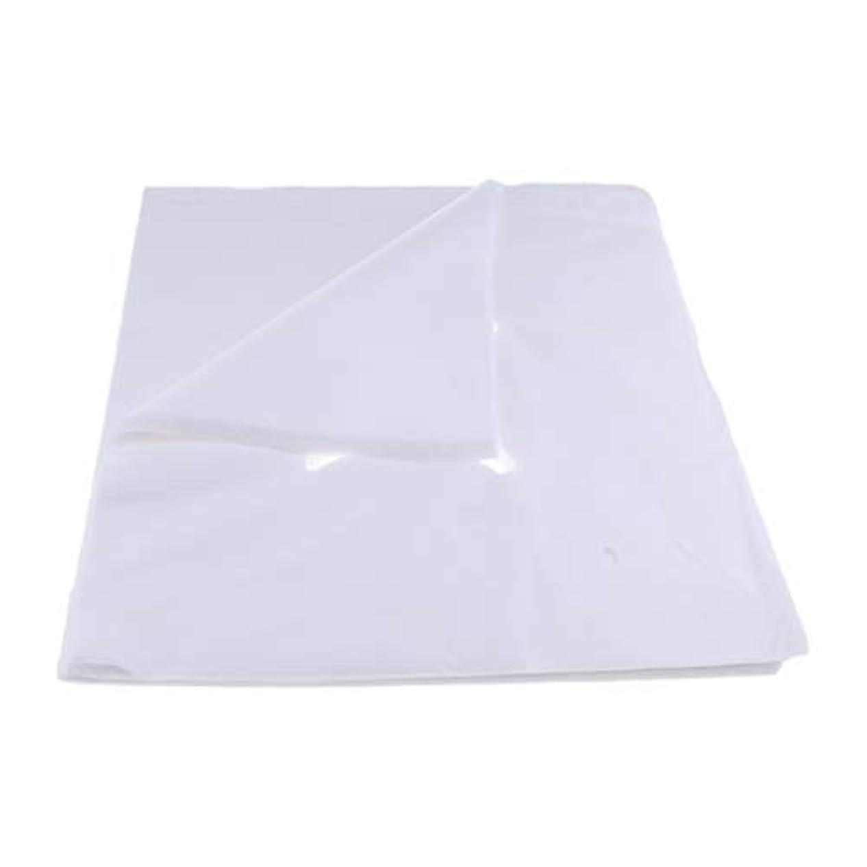 の中で組み込む非行200ピース不織布使い捨てマッサージベッドフェイスクレードルクッションシートカバー - L