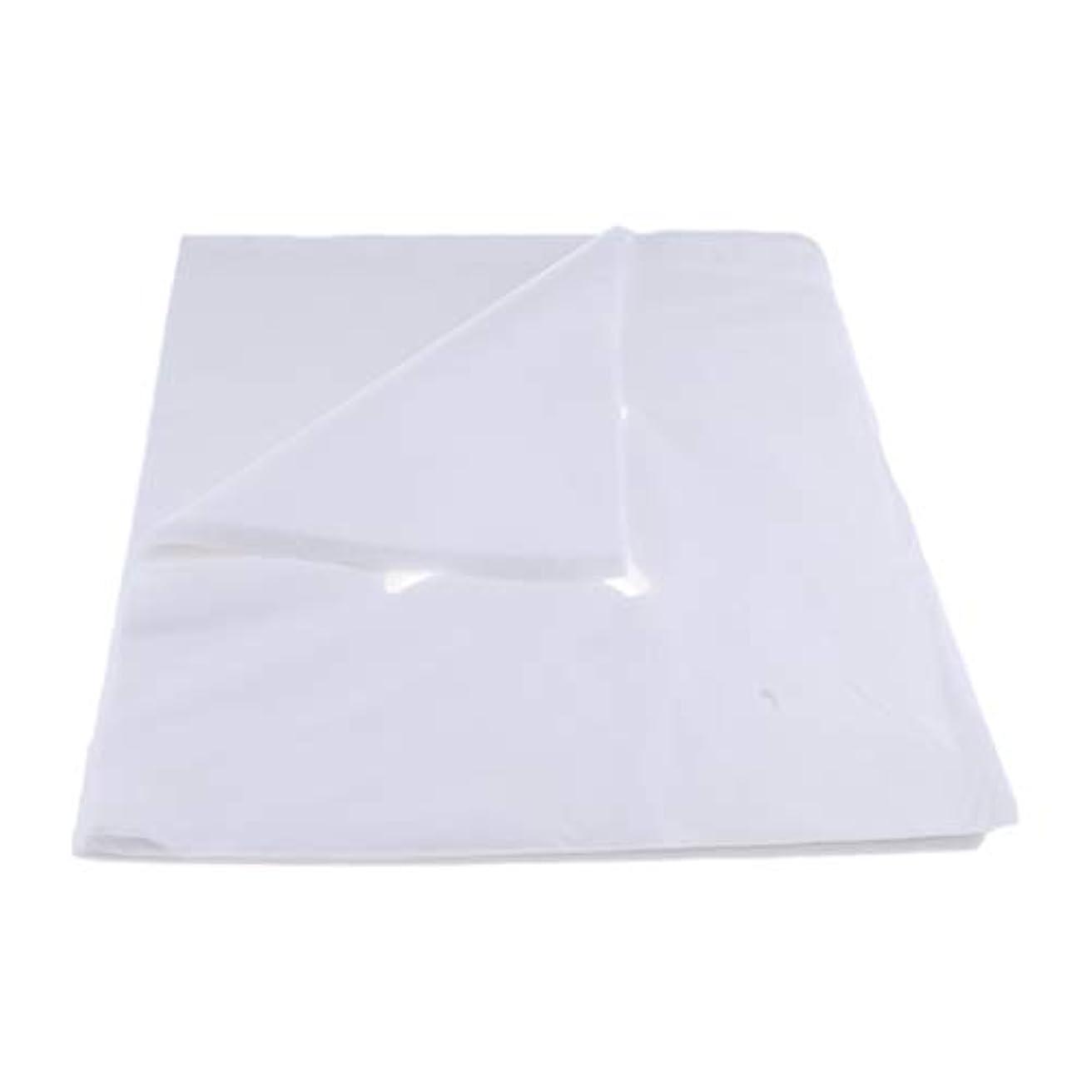 定常候補者誕生200ピース不織布使い捨てマッサージベッドフェイスクレードルクッションシートカバー - L
