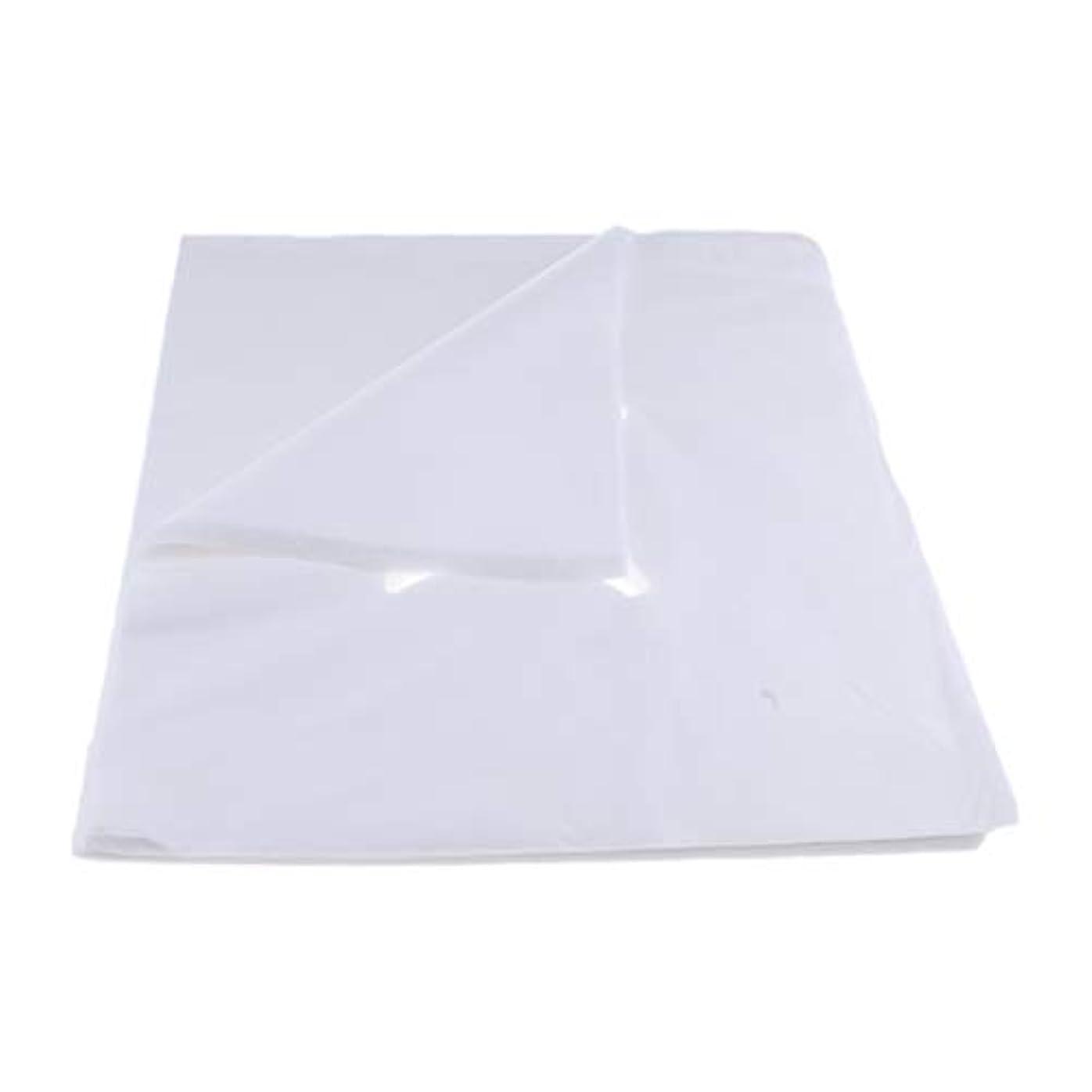 最愛のことわざ先行するchiwanji 200ピース不織布使い捨てマッサージベッドフェイスクレードルクッションシートカバー - L