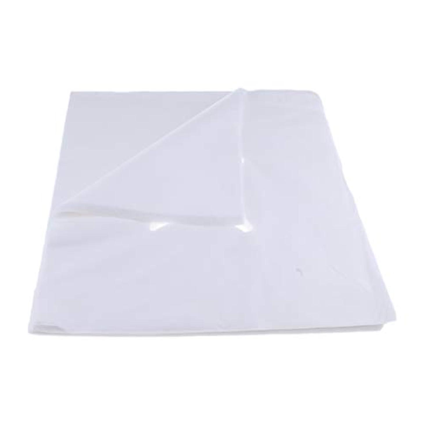 ホイッスル染料領事館200ピース不織布使い捨てマッサージベッドフェイスクレードルクッションシートカバー - L