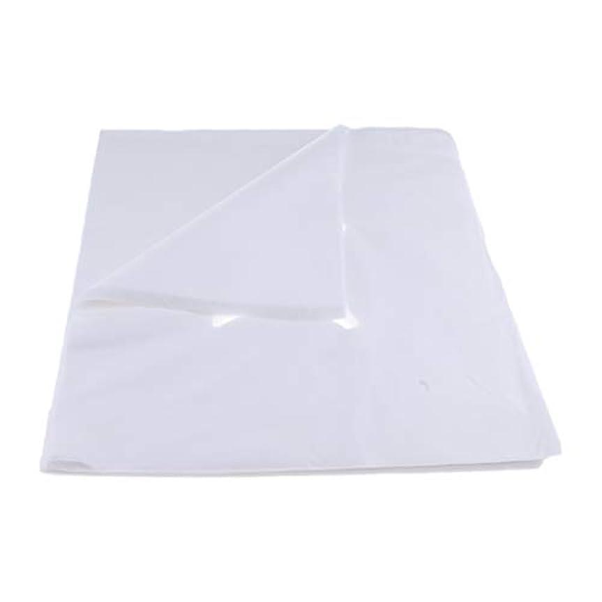 chiwanji 200ピース不織布使い捨てマッサージベッドフェイスクレードルクッションシートカバー - L