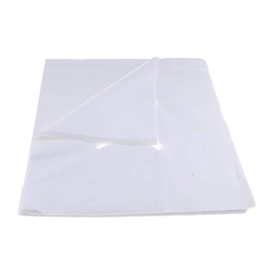 信頼法令幻滅する200ピース不織布使い捨てマッサージベッドフェイスクレードルクッションシートカバー - L