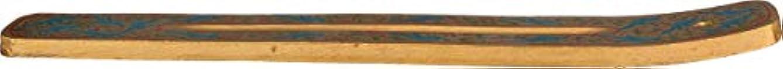 同一の同一のトレイTriloka – 手塗りIncense Holder Bluebirdsのパラダイス – 10で。