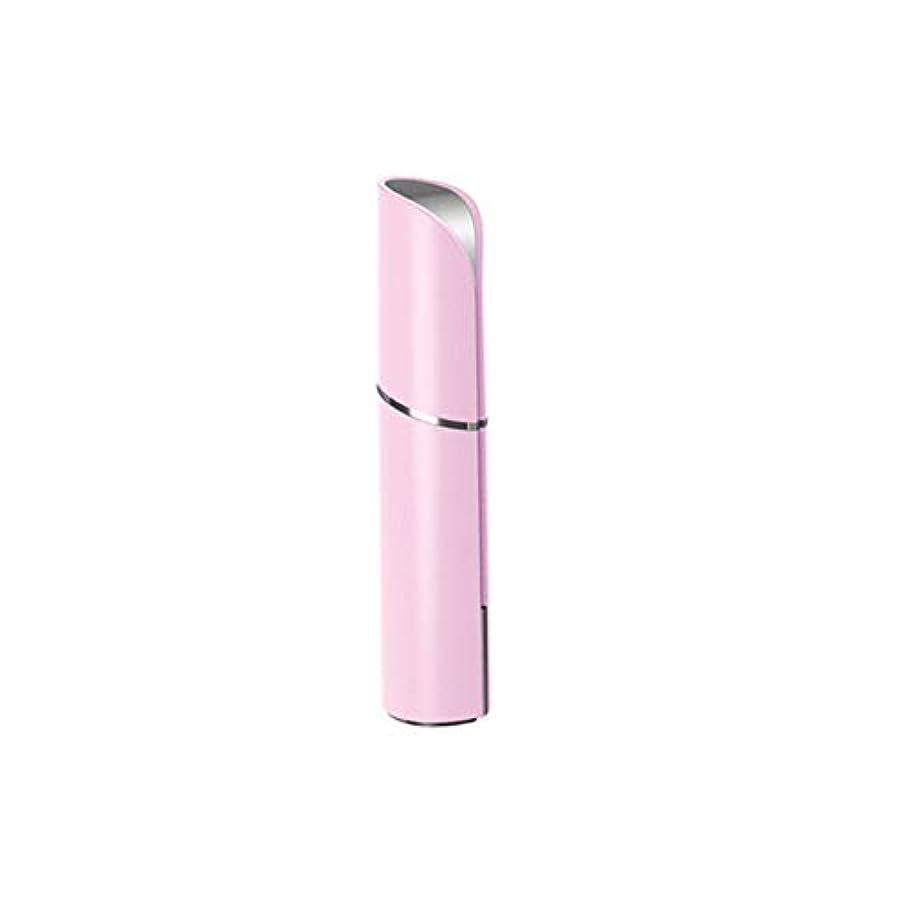 代わりに血色の良い割合マッサージャー - 黒丸アンチリンクルアイバッグ美容機器アーティファクト女性に行く (Color : Pink)