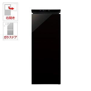 アクア 153L 冷凍庫【右開き】クリスタルブラックAQUA ...