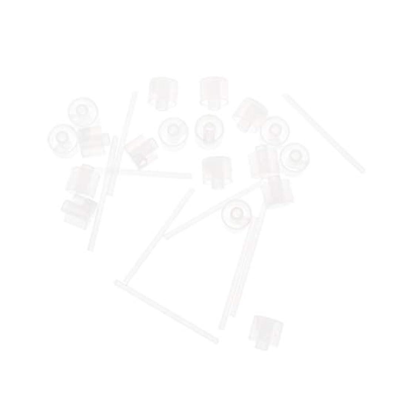 繊維睡眠強制Lurrose 20ピースプラスチック香水ポンプディスペンサー香水ディスペンサーツール