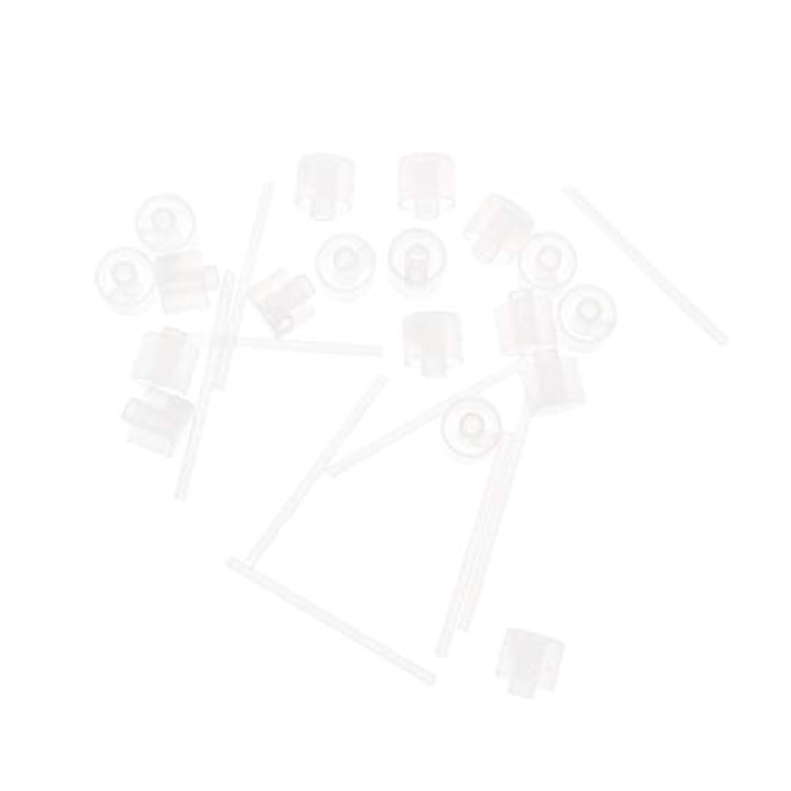 ゲージ栄光タッチLurrose 20ピースプラスチック香水ポンプディスペンサー香水ディスペンサーツール