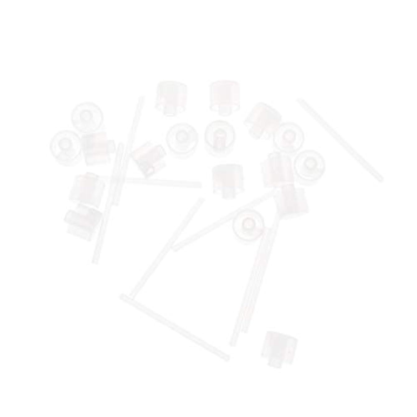 退屈運動するカートンLurrose 20ピースプラスチック香水ポンプディスペンサー香水ディスペンサーツール