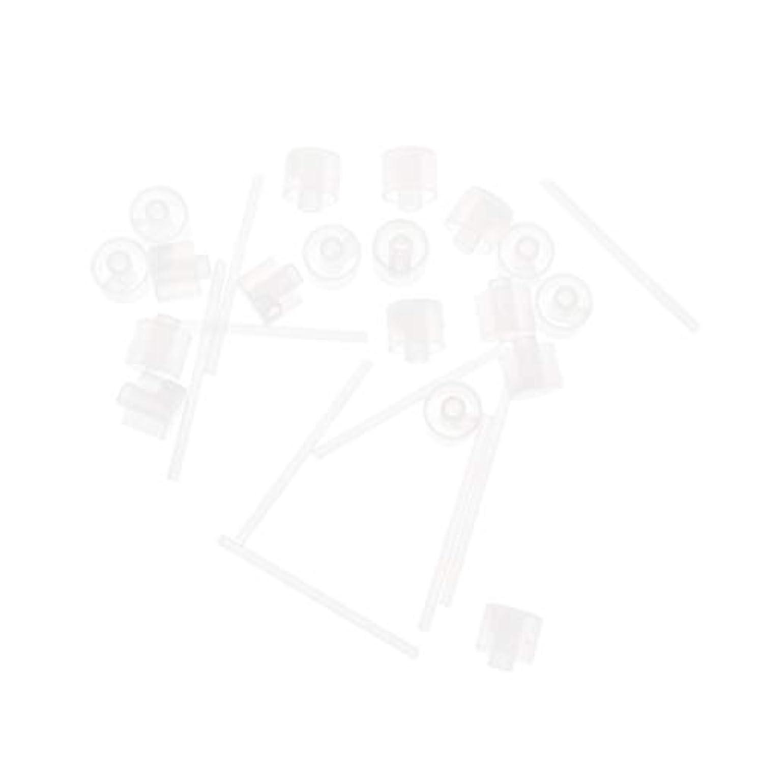 ウミウシクリケットピジンLurrose 20ピースプラスチック香水ポンプディスペンサー香水ディスペンサーツール