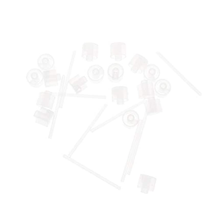 まばたきマサッチョ分散Lurrose 20ピースプラスチック香水ポンプディスペンサー香水ディスペンサーツール