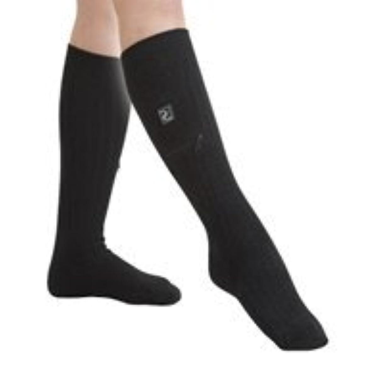 一過性韻パズル充電式カーボンヒーター付靴下『あんよのこたつ』/【サイズ】ML(約25~27cm)