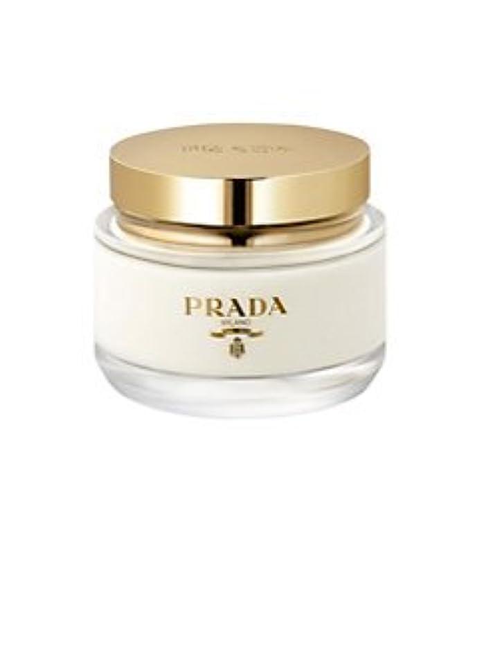 疲労手綱持参La Femme Prada (ラ フェム プラダ) 6.7 oz (200ml) Body Cream for Women