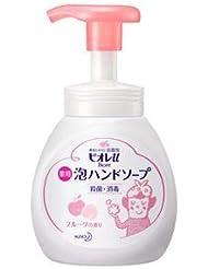 (まとめ) 花王 ビオレU泡ハンドソープ フルーツ 250ml【×10セット】
