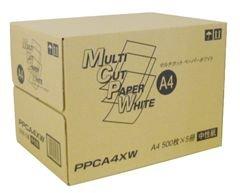 コピー用紙 マルチカットペーパーホワイト A4 500枚×5冊 箱