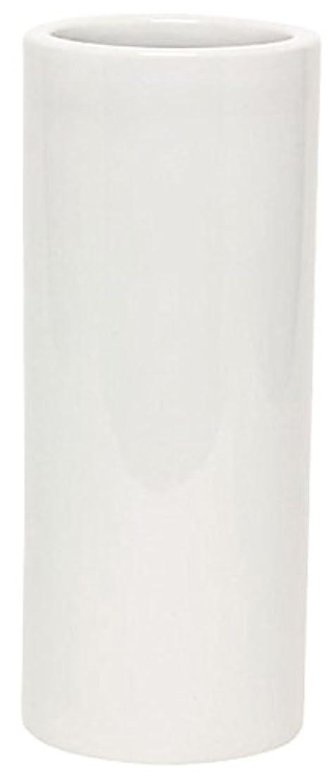 オゾンせっかち広くマルエス 花瓶 御仏具 白無地投入花瓶 7.0寸 ホワイト