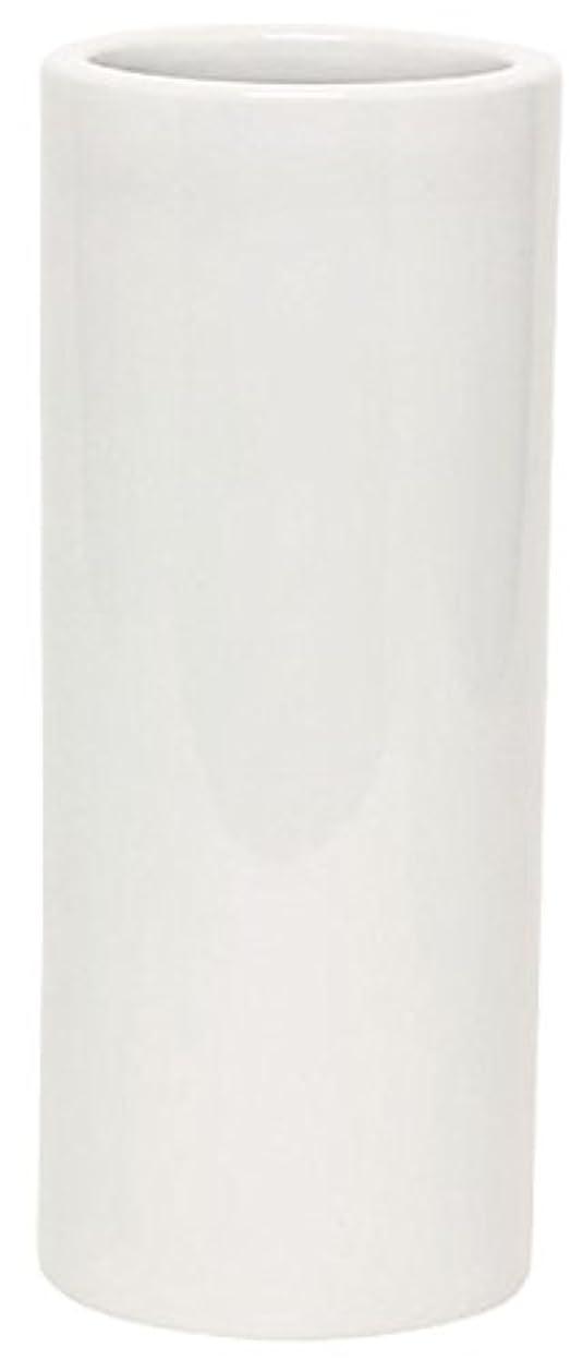 おもちゃ馬鹿カウンタマルエス 花瓶 御仏具 白無地投入花瓶 7.0寸 ホワイト