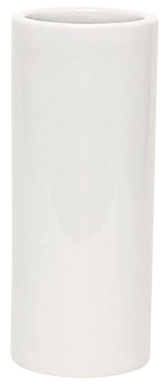 征服者項目望まないマルエス 花瓶 御仏具 白無地投入花瓶 7.0寸 ホワイト
