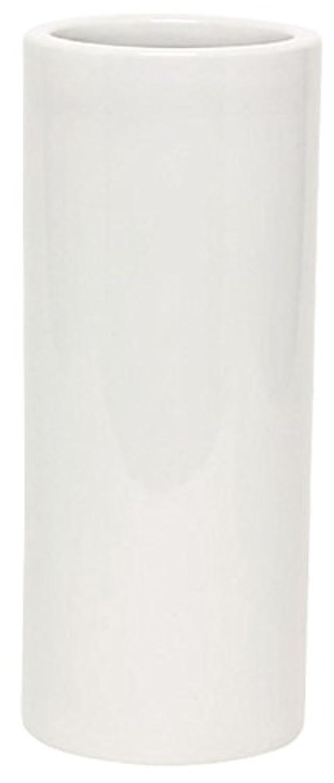 掘る血まみれの尊敬するマルエス 花瓶 御仏具 白無地投入花瓶 7.0寸 ホワイト