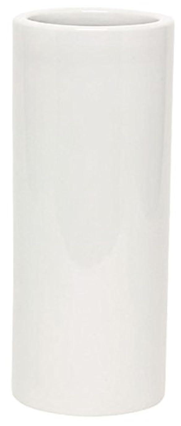 マルエス 花瓶 御仏具 白無地投入花瓶 7.0寸 ホワイト