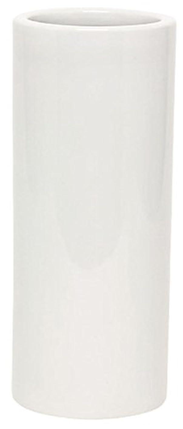 貫通椅子以前はマルエス 花瓶 御仏具 白無地投入花瓶 7.0寸 ホワイト