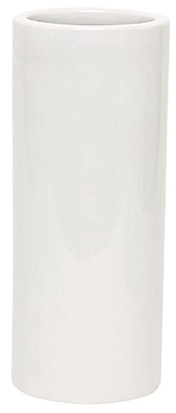 国民修羅場私達マルエス 花瓶 御仏具 白無地投入花瓶 7.0寸 ホワイト