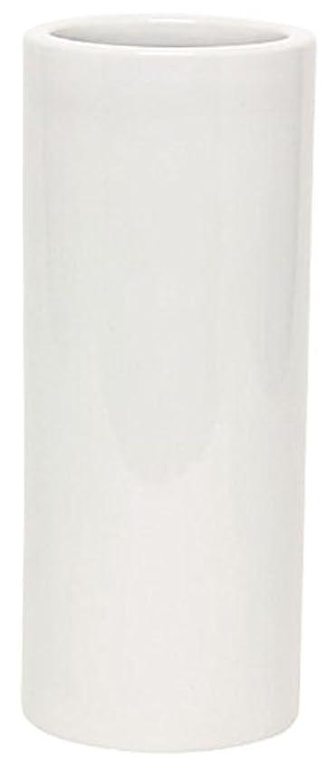 出演者文句を言う軽蔑するマルエス 花瓶 御仏具 白無地投入花瓶 7.0寸 ホワイト