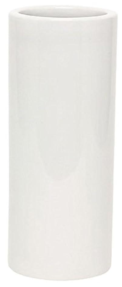 ドラマ劣るピカソマルエス 花瓶 御仏具 白無地投入花瓶 7.0寸 ホワイト