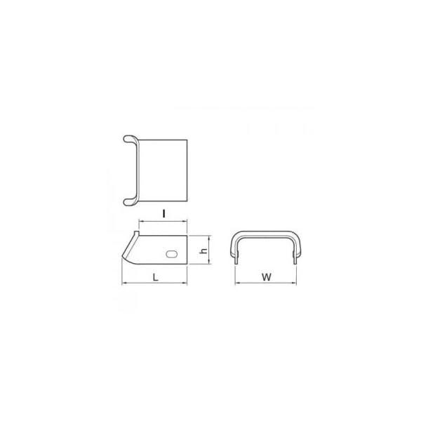 マサル工業 メタルモール 付属品 ブッシング ...の紹介画像2