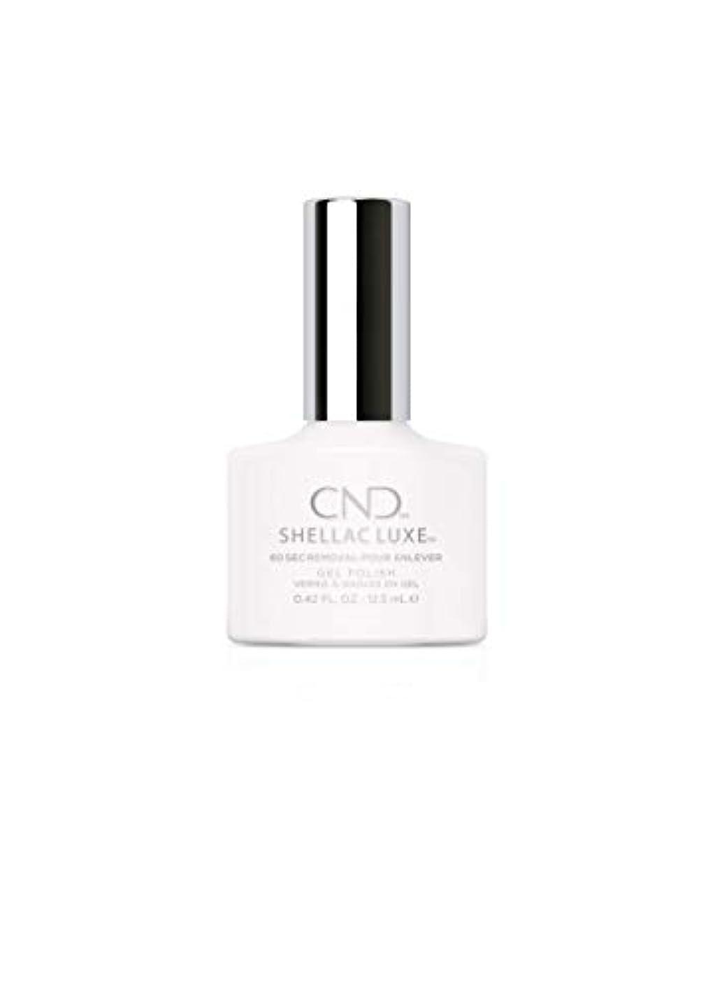 感情分離六月CND Shellac Luxe - Cream Puff - 12.5 ml / 0.42 oz