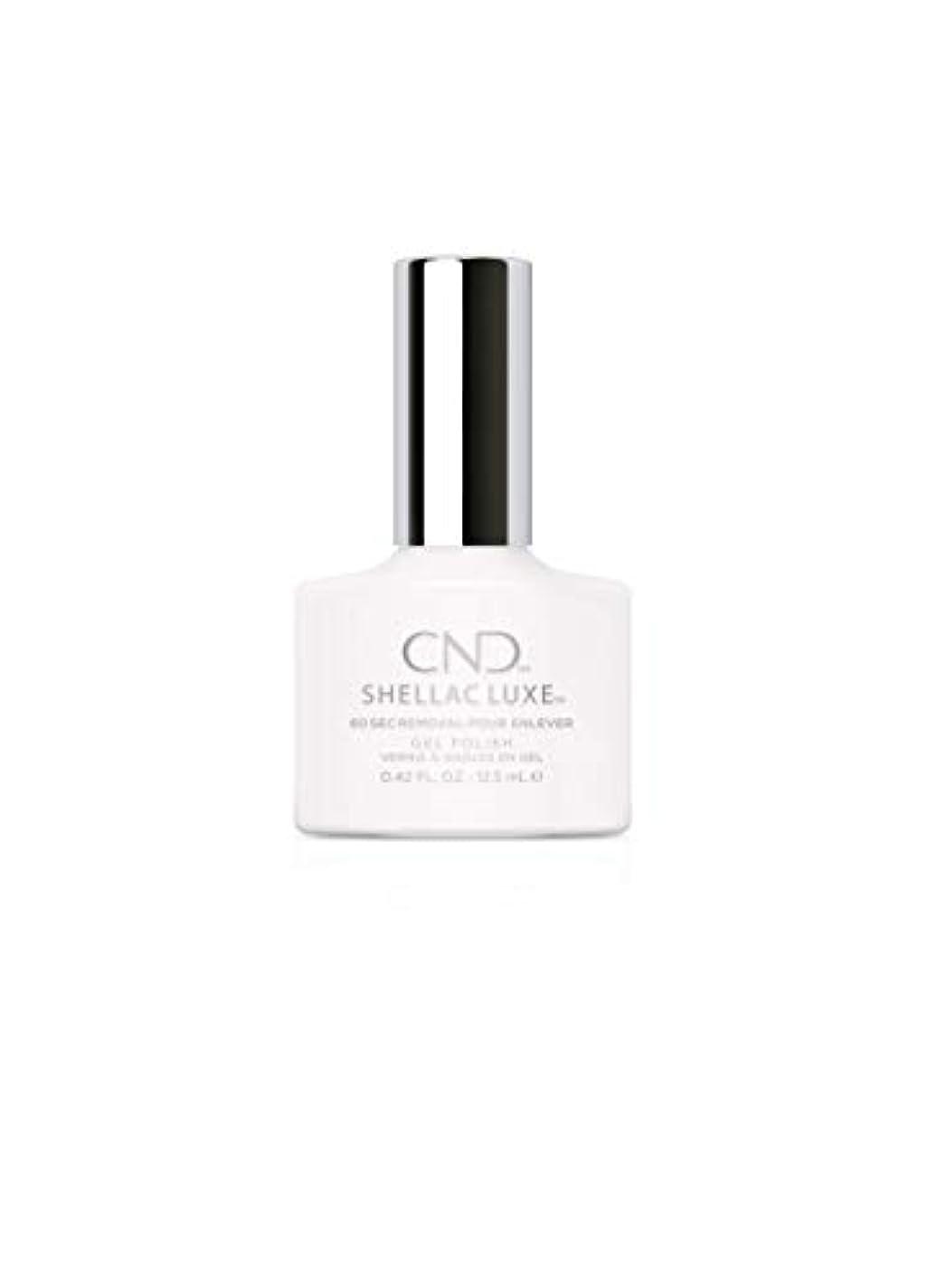血色の良いおっと留まるCND Shellac Luxe - Cream Puff - 12.5 ml / 0.42 oz