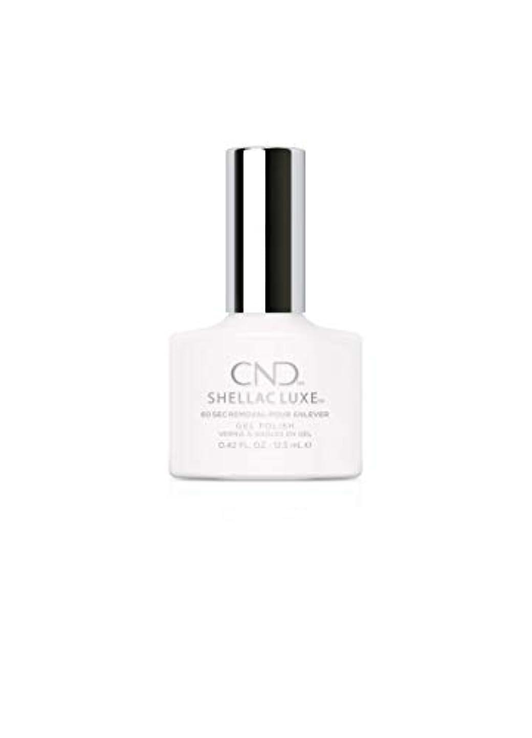 サーマルレイア確率CND Shellac Luxe - Cream Puff - 12.5 ml / 0.42 oz