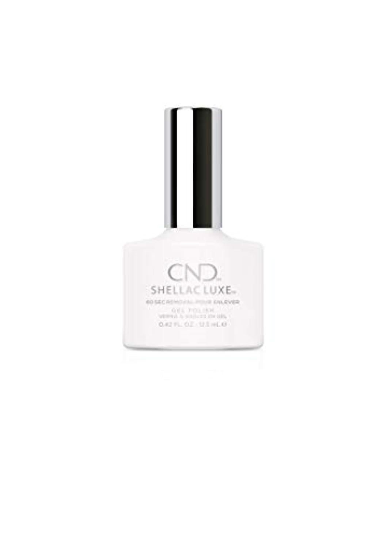 肉屋ジェスチャー防腐剤CND Shellac Luxe - Cream Puff - 12.5 ml / 0.42 oz