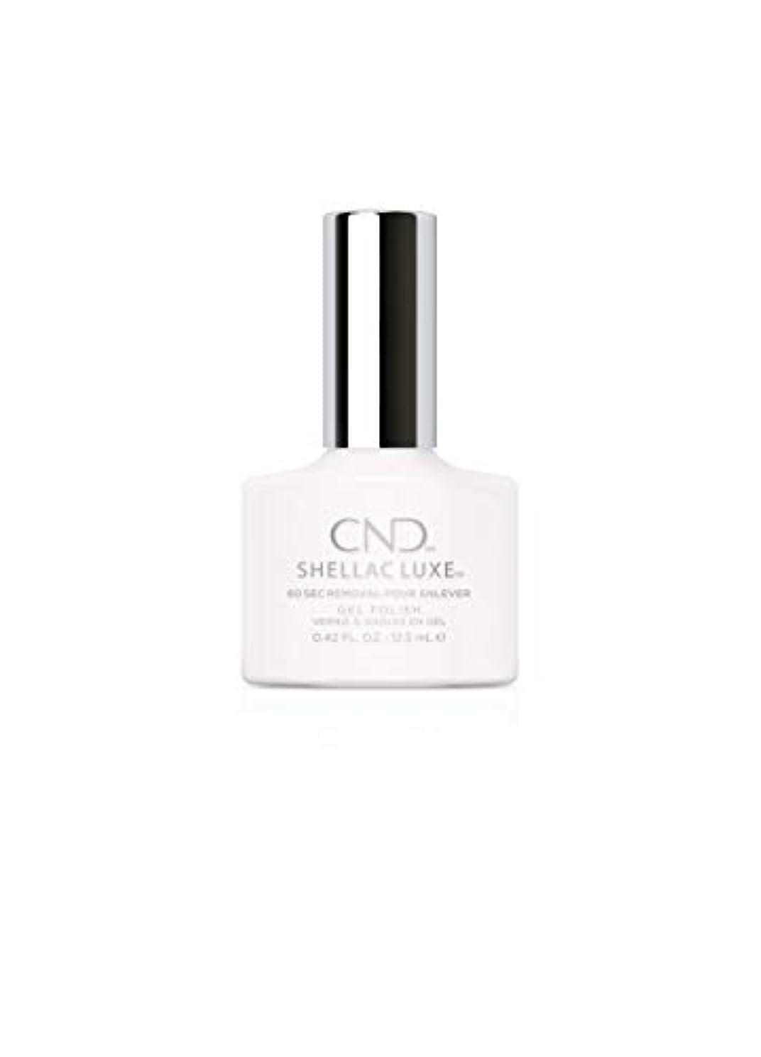 家庭ロマンチック腹痛CND Shellac Luxe - Cream Puff - 12.5 ml / 0.42 oz